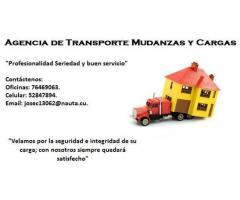 AGENCIA DE MUDANZAS, TRANSPORTE DE CARGAS Y MUEBLES