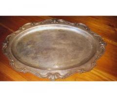 Vendo Bandejas de estilo antiguas, baño de plata 53813173-53028719