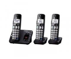 TELEFONO INALAMBRICO PANASONIC 1BASE $55CUC Y 2BASES $70 NEW VARIOS MODEL DISPON
