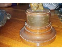Vendo Trofeo Premio 1953 a cantante cubano Rolando Laserie 53813173-53028719