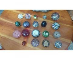 Vendo coleccion d pizapapeles d murano con disferentes diseños 53813173-53028719