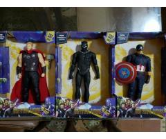 Juguetes niños Super Heroes Marvel c Musica y luz 78351197