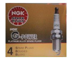 vendo bujias NGK G-power punta platino, en el vedado,