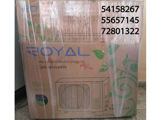 !!! $600 SPLIT 1 tonelada 12000BTU marca ROYAL® RSEC-12HP  5.415.8267!!!