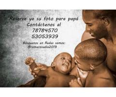RomeroStudio propone Ofertas de fotos para Papá