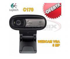 WEBCAM LOGITECH C170 de 5MPX con MICRÓFONO INTEGRADO New Tlf:72031498