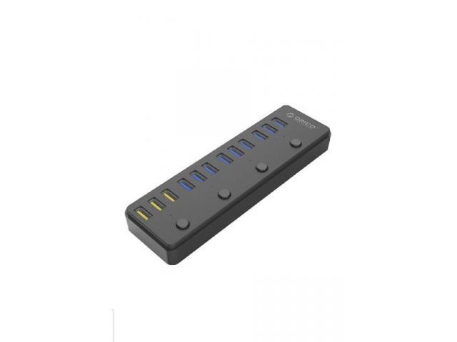HUB ORICO 60 Watt(P12-U3) 12 Puertos USB 3.0 SuperSpeed 12V/5A - 55655782