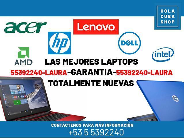 LAPTOPS   NUEVAS   VARIOS MODELOS  LENOVO DELL   HP   ACER    -55392240- LAURA