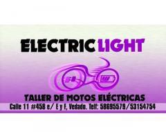 TALLER ELECTRI LIGHT TODO EN MOTOS Y ACCESORIOS EN EL VEDADO 53154754