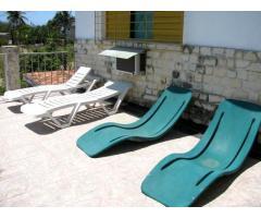 Disfrute una bella Casa de renta con 3/4 en playa Guanabo, muy cerca del mar