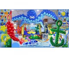 GLOBOMANÍA -Fiestas- Ud. tiene la ocasión y nosotros la experiencia. 7649-3243